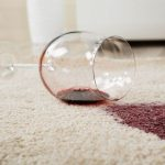 Red Wine Carpet Stains